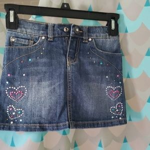 Denim skirt size 5
